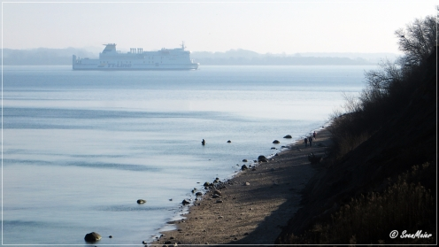 ein Schiff wird kommen …, ok, die Fähren der TT-Line fahren Linie und kommen regelmäßig